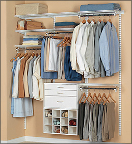 FreedomRail U003e Reach In Closet: White Collection Reach In
