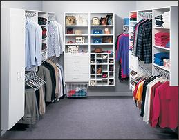 Melamine U003e Walk In Closets: Walk In