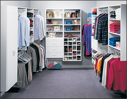 Attractive Melamine U003e Walk In Closets: Walk In