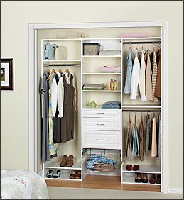Amazing Melamine U003e Reach In Closets: Reach In (a)